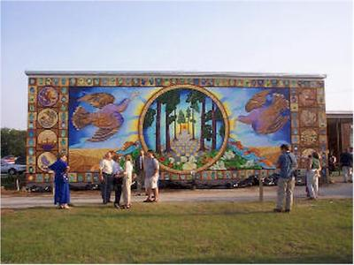 Mural define mural at for Definition mural